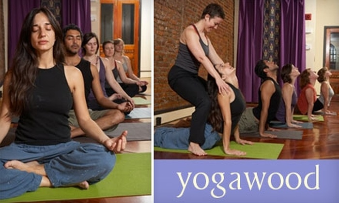 Yogawood - Multiple Locations: $49 for 10 Drop-In Classes at Yogawood in Collingswood or Riverton ($120 Value)