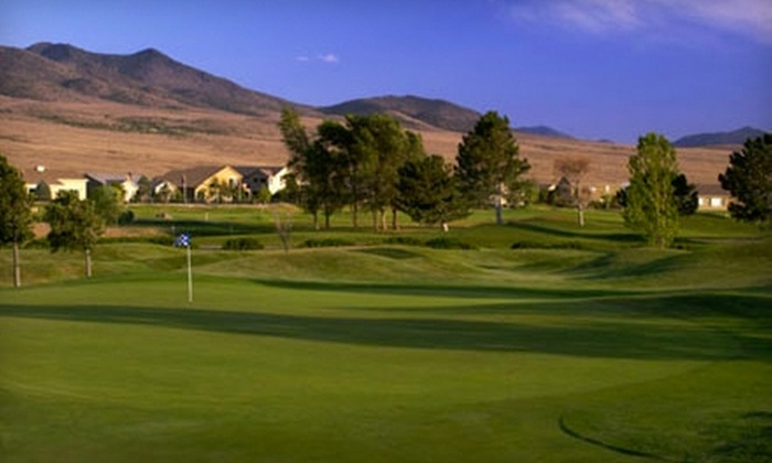 Dayton Valley Golf Club - Dayton: Round of Golf for Two, One Bucket of Driving-Range Balls and Cart Rental at Dayton Valley Golf Club in Dayton. Two Options Available.