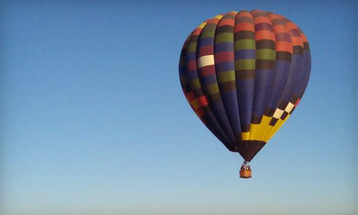 Balloons Above - Palm Desert: $112 for a Hot Air Balloon Ride for One from Balloons Above in Palm Desert ($225 Value)