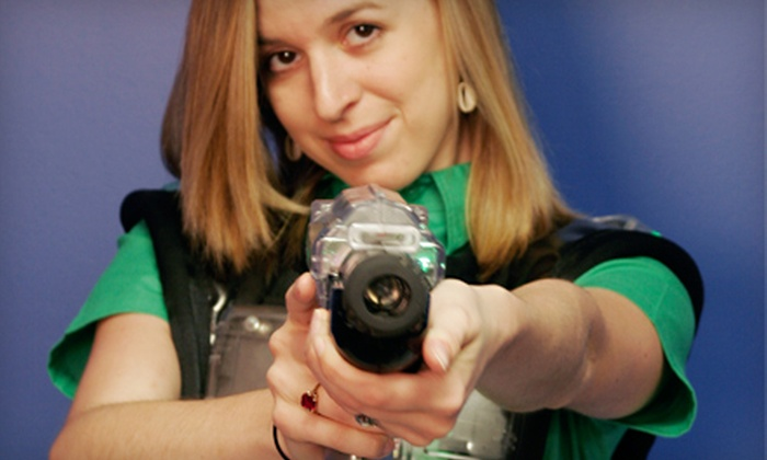 Laser Tag & Games - Metairie: $16 for a One-Year Membership to Laser Tag & Games in Metairie ($32.66 Value)