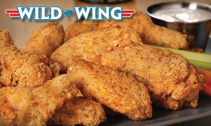 Wild Wing Cafe - Centennial: $10 for $20 Worth of Wings, Wraps, and More at Wild Wing
