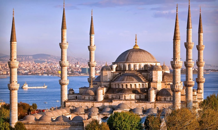 Turkey Vacation with Airfare  - Istanbul and Kusadasi: Eight-Day, Six-Night Trip to Turkey from Troy Tours with Airfare from New York, Washington, Chicago, or Los Angeles
