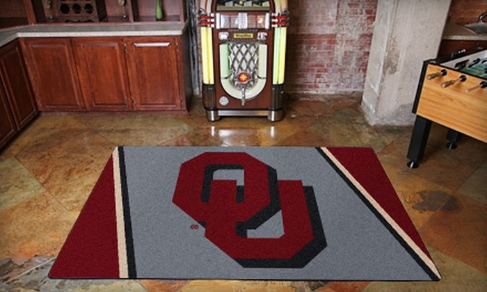 "My Sports Rug: $99 for Any 5'4""x7'8"" Sports-Team Floor Rug from My Sports Rug ($250 Value)"