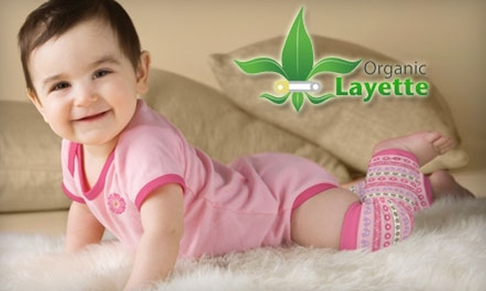 Organiclayette.com: $20 for $40 Worth of Eco-Friendly Apparel, Accessories, and Gear for Babies, Toddlers, and Kids from Organiclayette.com