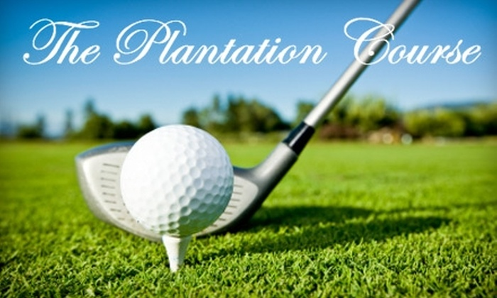 The Plantation Course at Edisto - Edisto Beach: $59 for 18 Holes of Golf for Two Plus Cart Rental at The Plantation Course at Edisto ($118 Value)