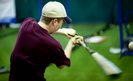 1 Hour of Batting-Cage Time for Up to 5 People (a $30 value) - Raider's Edge in Gaithersburg