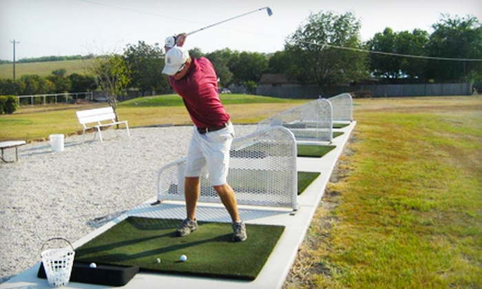 Birdee's Golf Center - New Braunfels: Five Buckets of Driving-Range Balls and Lessons at Birdee's Golf Center in New Braunfels. Three Options Available.