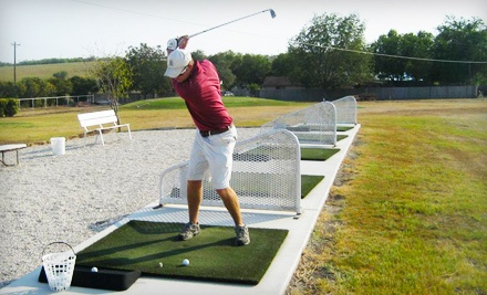 Punch Card for 5 Large Buckets of Driving-Range Balls (a $50 value) - Birdee's Golf Center in New Braunfels