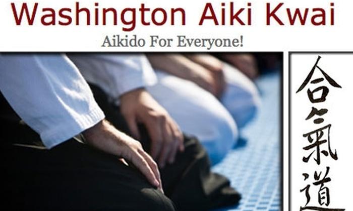 Washington Aikikwai, LLC - Wallingford: $40 for Eight Aikido Training Sessions at Washington Aiki Kwai ($80 Value)
