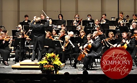 Adrian Symphony Orchestra: Showstopper Pops Concert on Sat., Feb. 26 at 8PM - Adrian Symphony Orchestra in Adrian