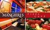 Mangieri's Pizza Café  - Austin: $12 for $25 Worth of Pies and Pours at Mangieri's Pizza Café