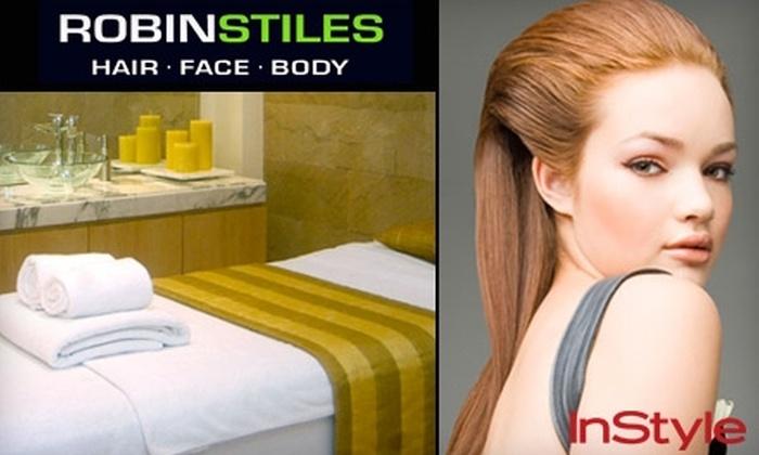 Robin Stiles Hair, Face & Body - South Tuxedo Park: $60 for $125 Worth of Services at Robin Stiles Hair, Face & Body