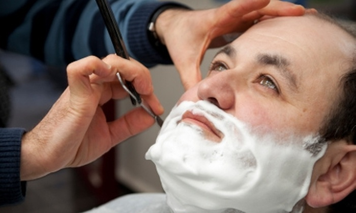 Wedgeway Barber Shop - Schenectady: $18 for an Old-Fashioned Blade Shave and Haircut at Wedgeway Barber Shop ($36 value)