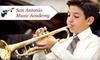 San Antonio Music Academy - Northwest Side: $55 for One-Month Tuition and Membership Fee at San Antonio Music Academy ($115 Value)