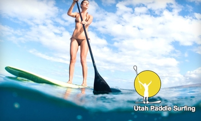 Utah Paddle Surfing - Salt Lake City: $35 for One Paddle-Board Rental for Two Hours or Two Paddle-Board Rentals for One Hour from Utah Paddle Surfing ($70 Value)