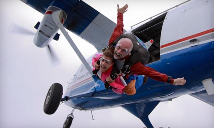 Connecticut Parachutists, Inc. - Ellington: $149 for a Tandem Skydive from Connecticut Parachutists, Inc. in Ellington (Up to $235 Value)