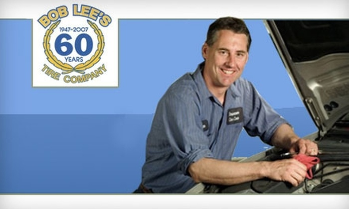 Bob Lee's Tire Company - Historic Old Northeast: $25 for an Oil Change, Tire Rotation, and Balancing at Bob Lee's Tire Company in St. Petersburg