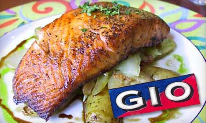 Gio - Evanston: $20 for $40 Worth of Italian Fare and Drinks at Gio in Evanston