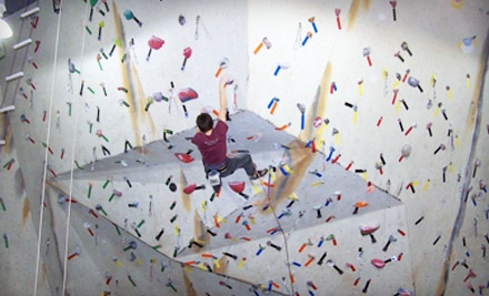 1 Belay Class Plus 2 Day-Passes and Gear (up to a $63 value) - Ibex Climbing Gym in Blue Springs