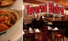 Taverna Bistro - Heritage District: $12 for $24 Worth of Mediterranean Cuisine at Taverna Bistro