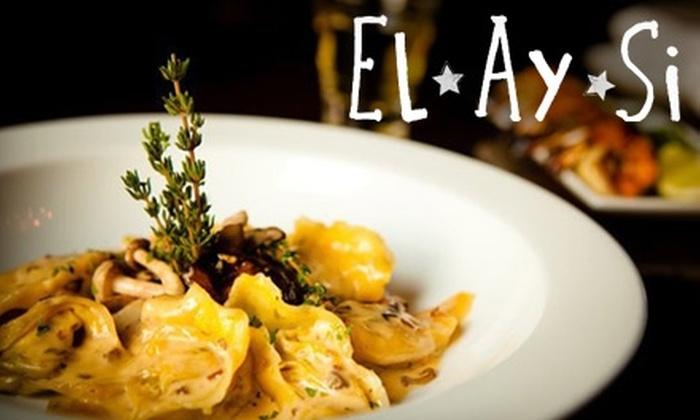 El Ay Si - Hunters Point: $15 for $30 Worth of Global Comfort Food at El Ay Si in Long Island City