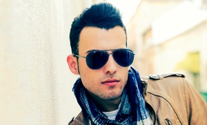 Yes We Do: $9 for Two Men's Haircuts at Yes We Do ($20 Value)