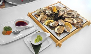 EDO at Bayview Village: CC$36 for a Prix-Fixe Oyster Dinner for Two at EDO at Bayview Village (CC$65 Value)