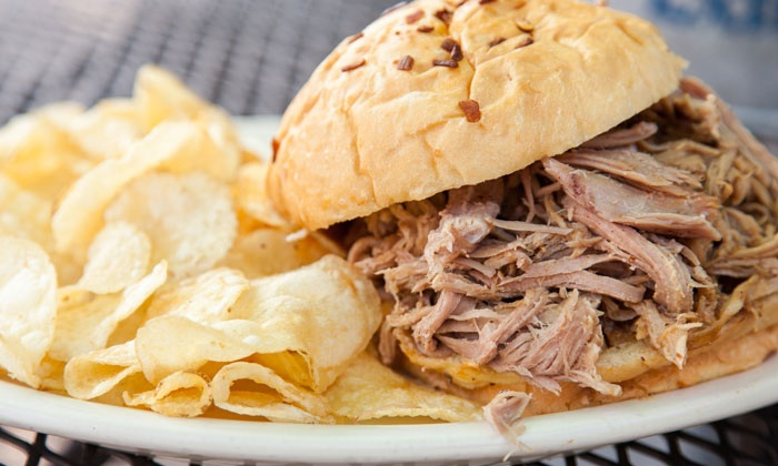 Lookout Bar and Grill - Brooklyn Park - Maple Grove: BBQ and Beer for Two or Four at The Lookout Bar and Grill (Up to 62% Off). Four Options Available.