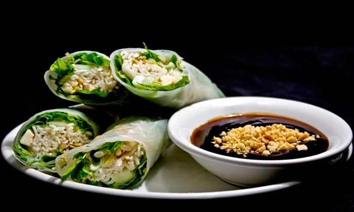 Basil Restaurant - Basil Restaurant: $10 for $20 Worth of Thai Cuisine at Basil Restaurant