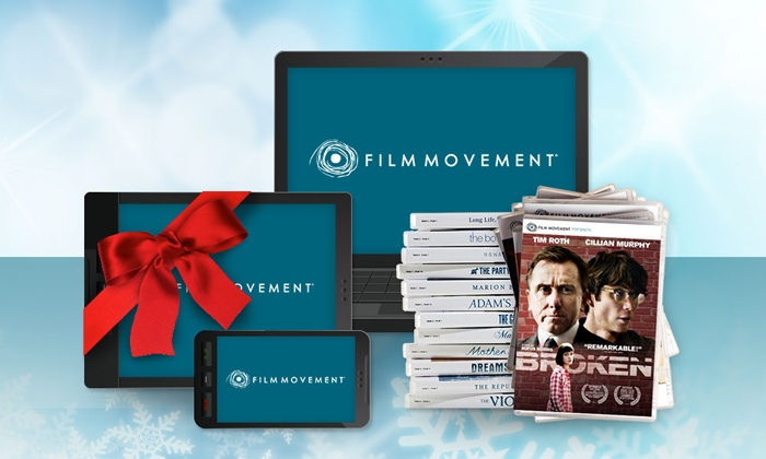Film Movement: 3-, 6-, or 12-Month Subscription to Monthly DVDs and Streaming from Film Movement (Up to 60% Value)