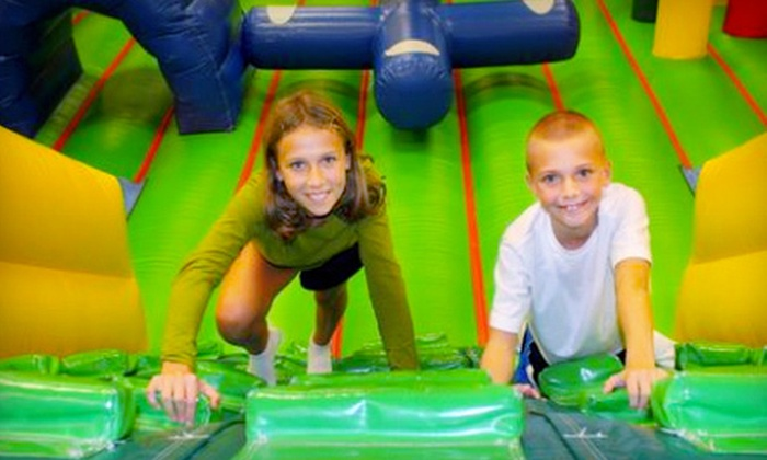 Jumpin' Beans - Wake Forest: $15 for Four Indoor-Playground Visits at Jumpin' Beans ($32 Value)