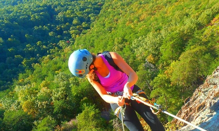 Climbing, Rapelling, or Both for One or Two at Carolina Adventure Guides (Up to 62% Off)