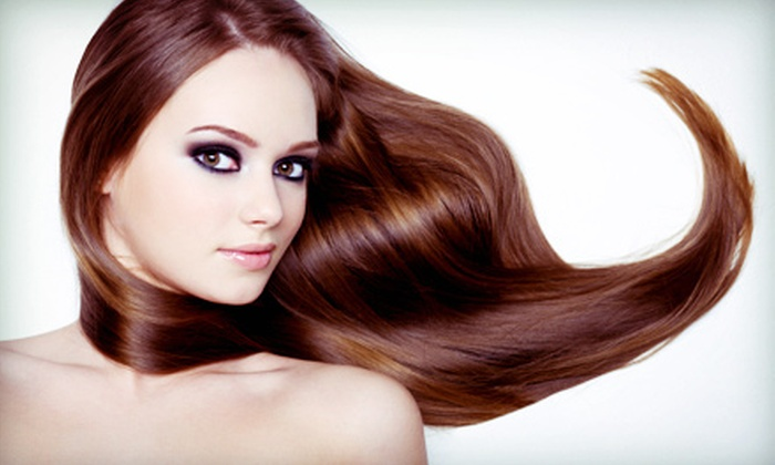 Mojazz Hair Salon - Lawrenceville: One or Two Keratin Straightening Treatments at Mojazz Hair Salon (Up to 73% Off)