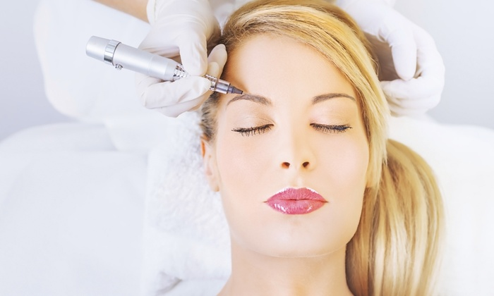 Yun's Permanent Makeup - Battle Ground: Permanent Eyeliner or Brow Makeup at Yun's Permanent Makeup (Up to 73% Off). Three Options Available.