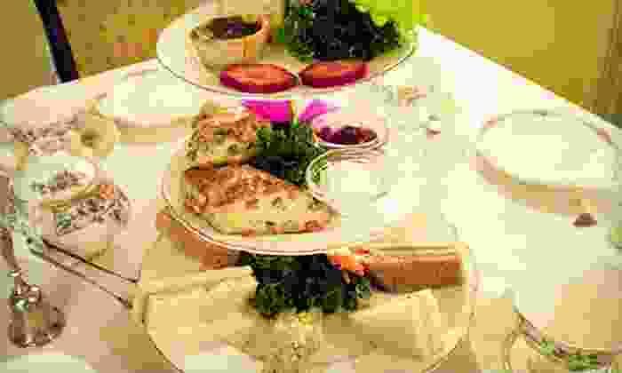 Lisa's Tea Treasures Menlo Park - Los Altos: High Tea or a Children's Tea Party with Cupcake Decorating for Six at Lisa's Tea Treasures Menlo Park (Half Off)