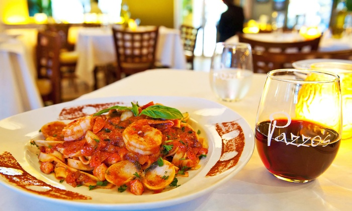 Pazzo's Cucina @311 - The Loop: Italian Meal with Wine for Two or Four at Pazzo's Cucina @311(Up to 39% Off). Groupon Reservation Required.