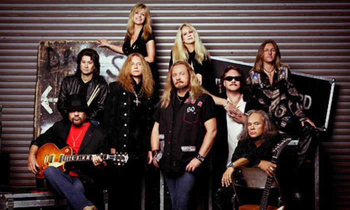 Lynyrd Skynyrd and Los Lonely Boys - Independence: Lynyrd Skynyrd and Los Lonely Boys Concert at DTE Energy Music Theatre on Friday, September 21 (Up to Half Off)