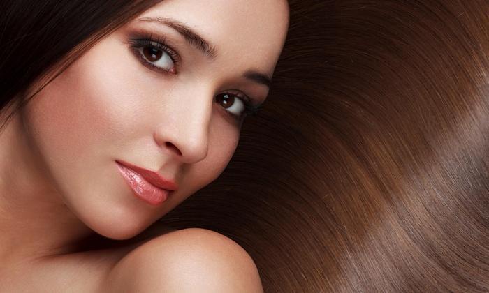 hair solutions studio - Houston: Brazilian Straightening Treatment from Hair solutions studio (49% Off)