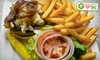 Lilee's Public House - Brunswick: $6 for a Gourmet Burger Entree at Lilee's Public House (Up to $13 Value)