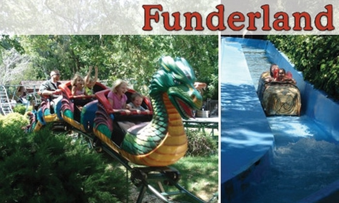 Funderland Amusement Park - Southwestern Sacramento: $6 for Unlimited Rides on a Weekday at Funderland Amusement Park ($13.50 Value)