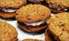 Half Off Dozen Vegan Cookie Sandwiches at Wholesome Bakery