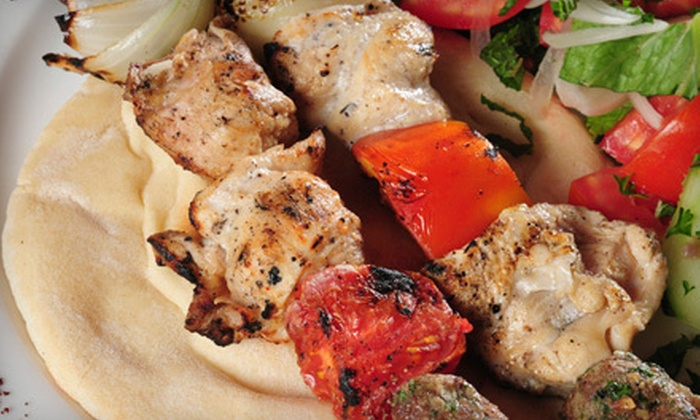 Pita Sub - Sylvania: Chicken-Kebab Dinner for Two or $6 for $12 Worth of Mediterranean Cuisine at Pita Sub (Half Off)