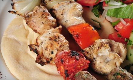 Chicken-Kebab Dinner for 2 (a $20 value)  - Pita Sub in Sylvania