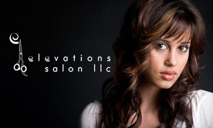 Elevations Salon - Farmington: $20 for $50 Worth of Hair, Nail, and Waxing Services at Elevations Salon in Advance