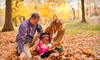 Melody Yazdani Photography: $129 for an On-Location Holiday Family-Portrait Package from Melody Yazdani Photography ($365 Value)
