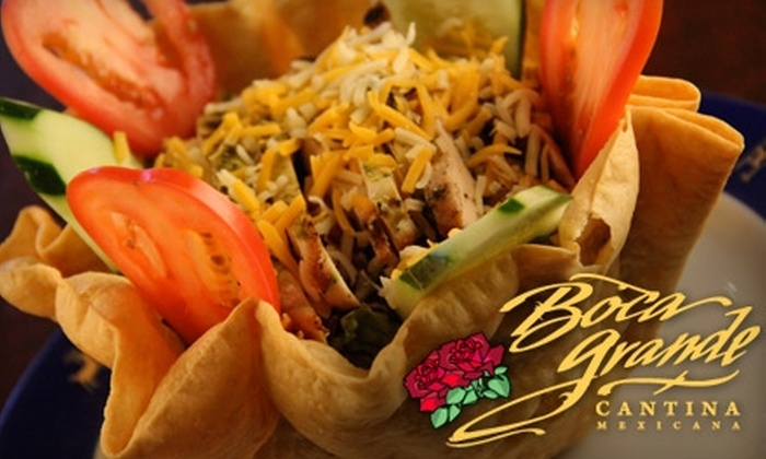 Boca Grande Cantina Mexicana - The Waterfront: $12 for $25 Worth of Mexican Fare and Drinks at Boca Grande Cantina Mexicana in Jersey City