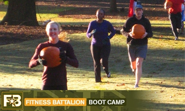 Fitness Battalion - Multiple Locations: $35 for One Month of Unlimited Boot Camp at Fitness Battalion ($140 Value)