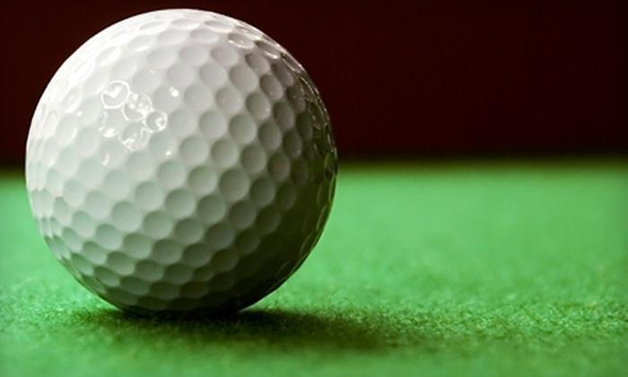 1st Tee Golf Range - Saratoga Springs: $20 for Five 80-Ball Buckets of Golf Balls at 1st Tee Golf Range in Saratoga Springs ($45 Value)