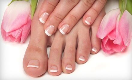 1 No-Chip Manicure (a $35 value) - be Spacific Salon & Spa in Belvidere