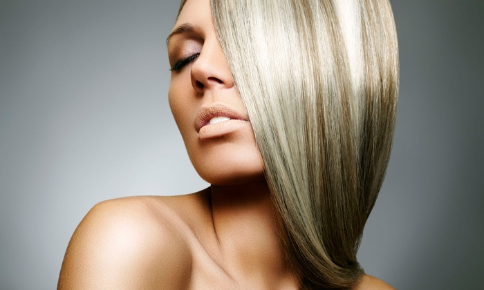Hair By Sherry - Forest Hills: Organic Keratin Hair-Smoothing Treatment with Optional Haircut at Hair by Sherry (Up to 60% Off)